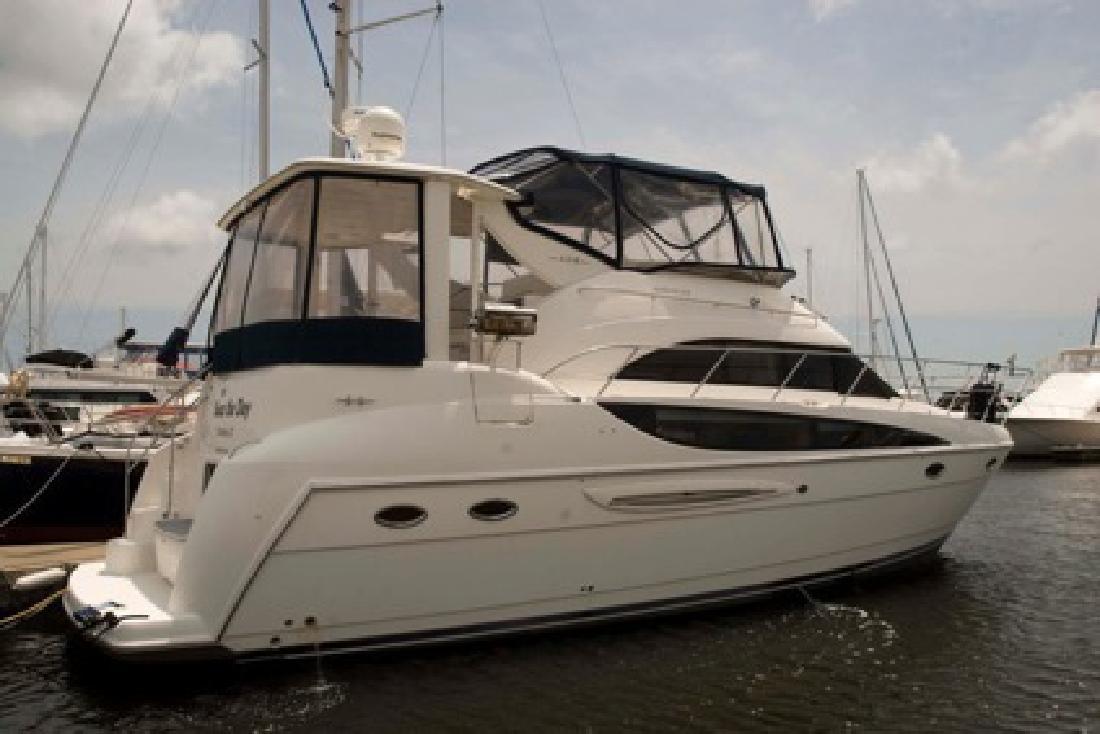 $178,000 OBO 2006 Meridian 408 Motoryacht Only