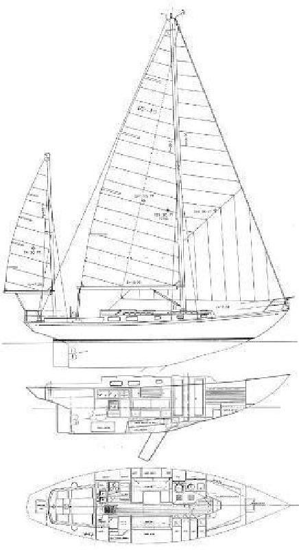 1987 Migrator Yachts Block Island 40 Amelia Island FL