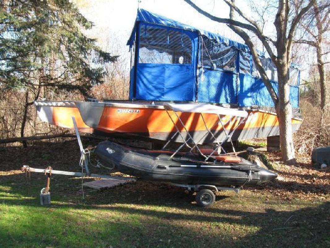 1999 Catamaran Custom Blount 40 Bristol RI