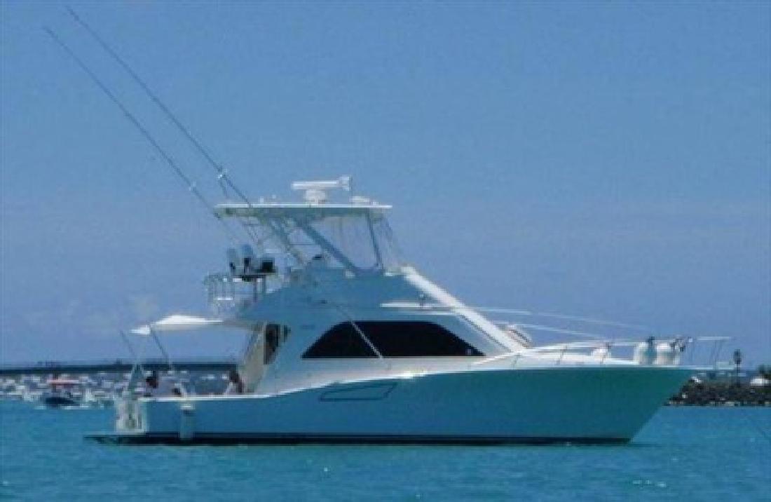 $575,000 2008 Cabo Yachts 40 CONVERTIBLE