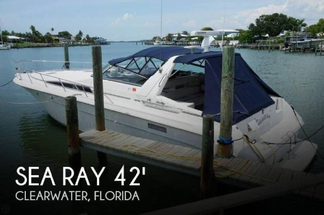 1991 Sea Ray Boats 420 Sundancer Clearwater FL