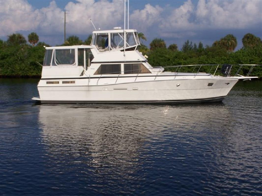 1985 44 39 Viking Yachts 44 Aft Cabin For Sale In Tampa