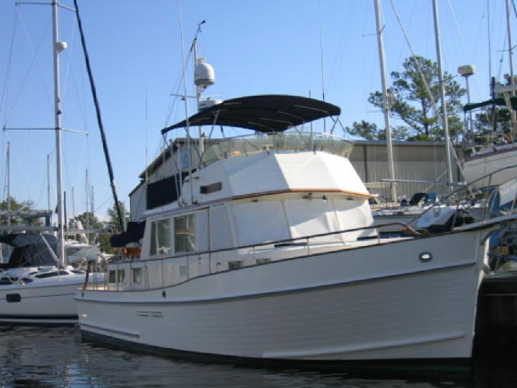 1991 46' Grand Banks 46 Classic Stabilized