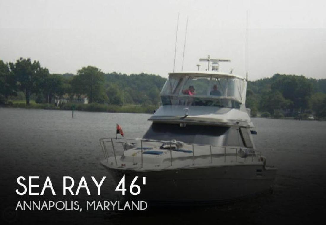 1987 Sea Ray Boats 46 Convertible Annapolis MD