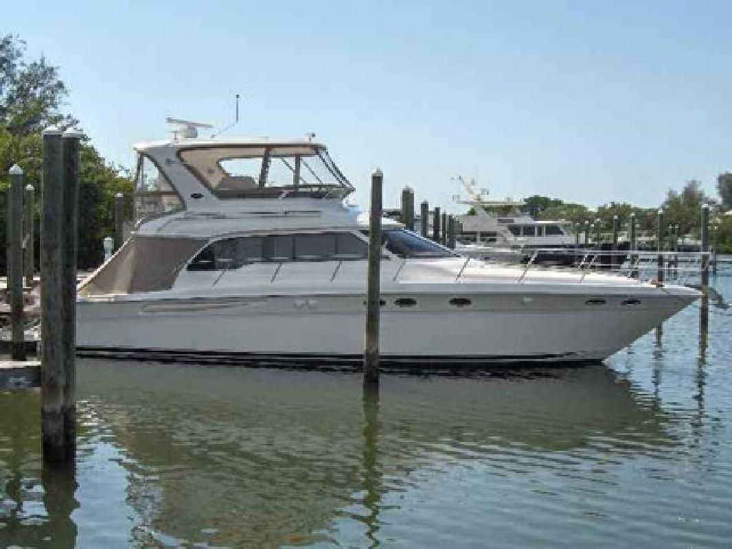 $398,000 2004 Sea Ray 48 SEDAN BRIDGE