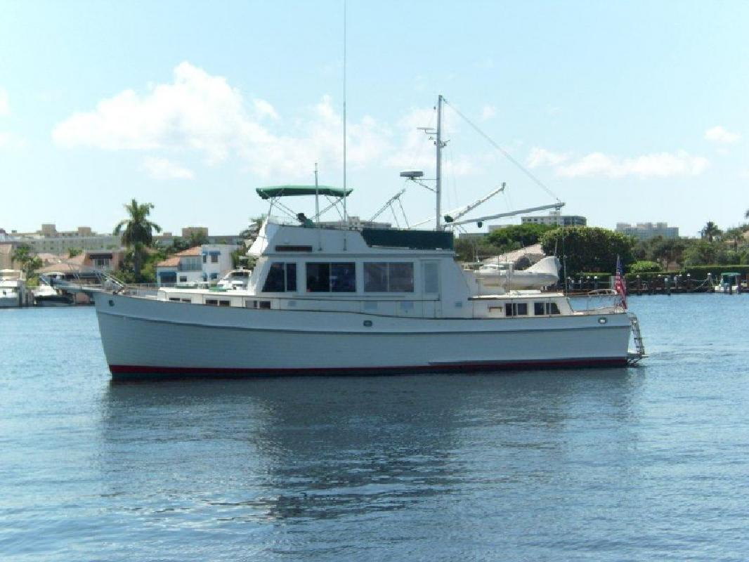 1986 49 39 grand banks 49 heritage classic for sale in for Delray beach fishing