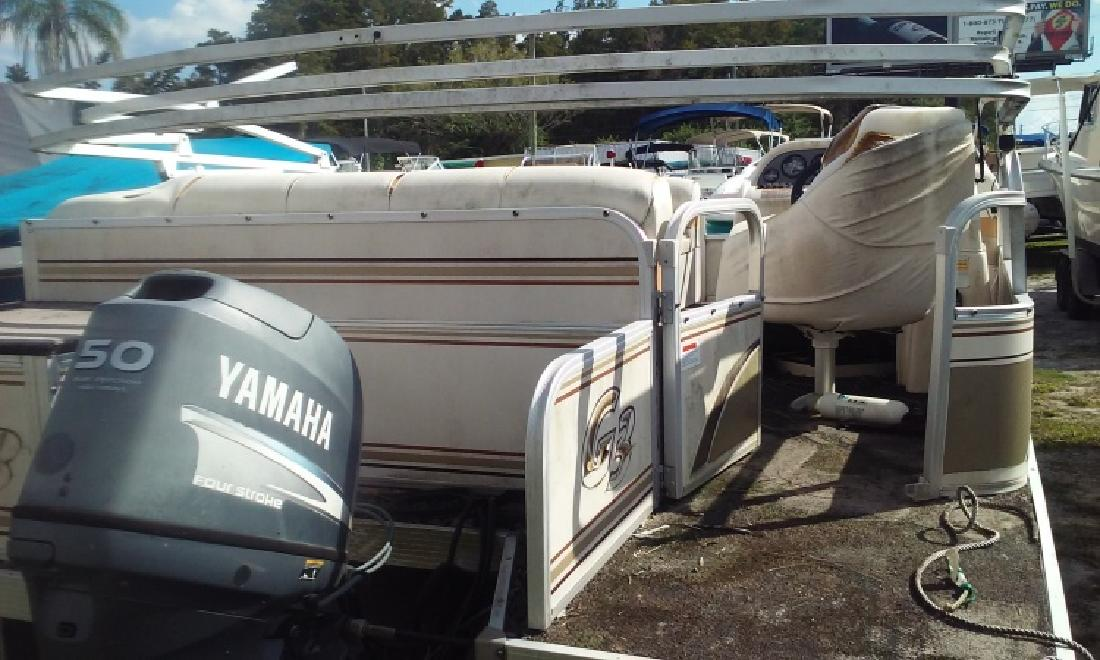 2006 G3 Suncatcher with a 50 yamaha 4 stroke in Palm Harbor, FL