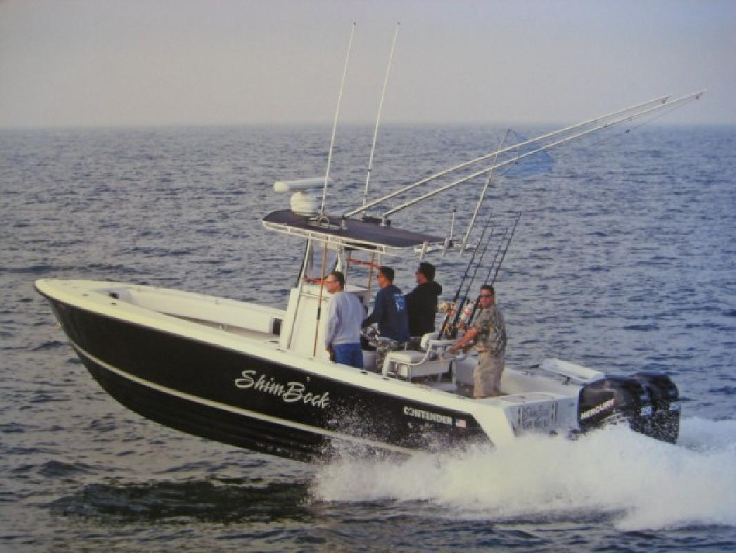 2006 28 39 contender 25 open 4 strokes warranty firm for Twins plumbing cape cod