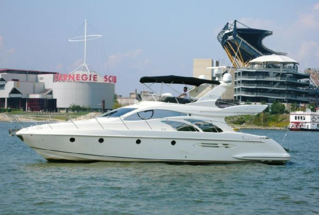 2006 52' Azimut 50 Fly for sale in Pittsburgh, Pennsylvania | All Boat ...