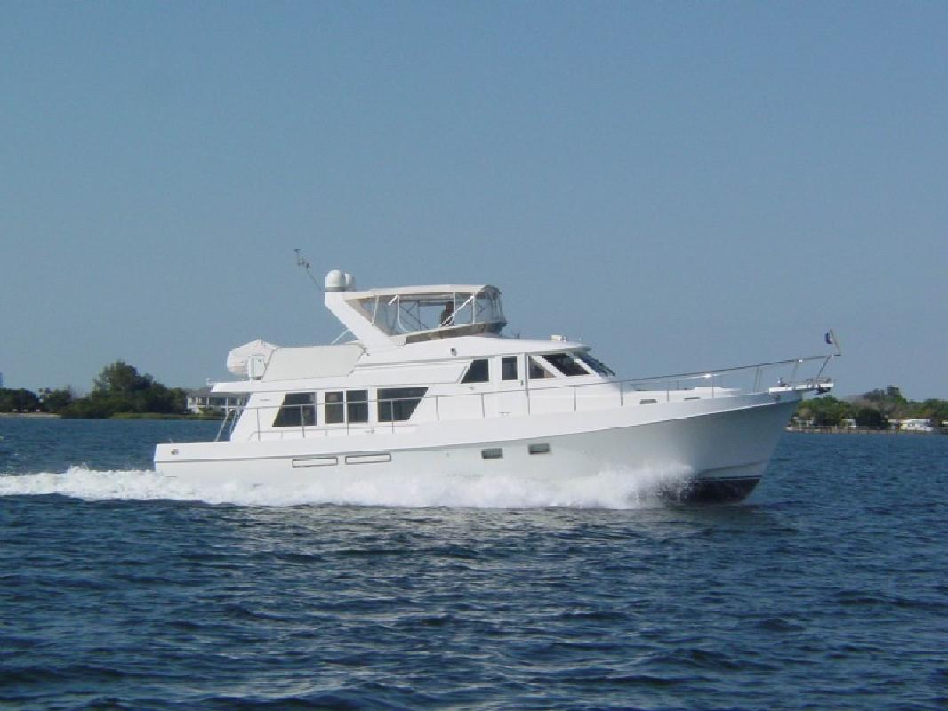 2000 51' Ocean Alexander 510 Classico Pilothouse in Palmetto, Florida
