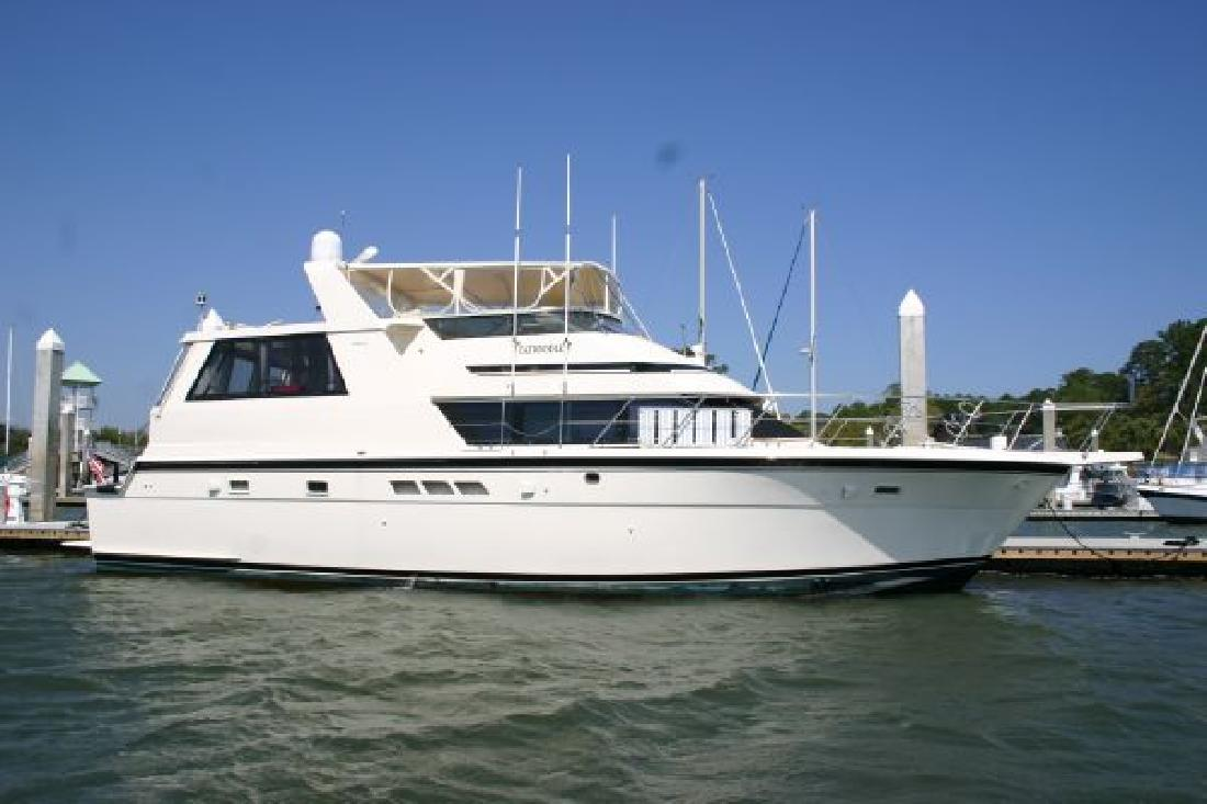 1991 52 39 hatteras yachts 52 cockpit motor yacht for sale