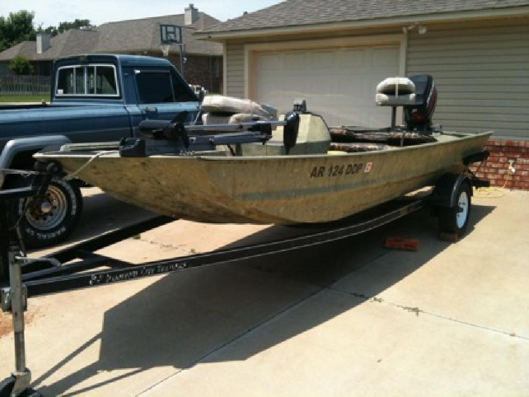 $7,500 OBO 2004 War Eagle Fishing Boat *60hp Electric Mercury*Trolling Motor*Diamond City T