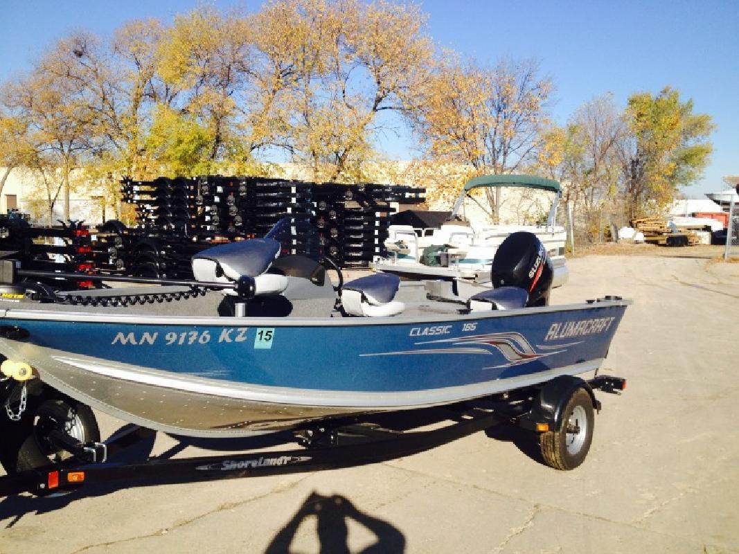 2013 - Alumacraft Boats - Classic 165 CS 70 Suzuki Shorelandr t in Bloomington, MN