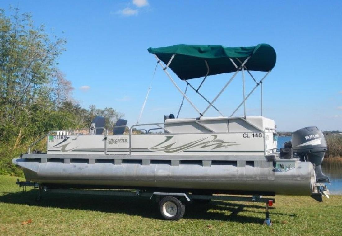 2004 - Gillgetter Pontoon Boats - 718 Cruise Master in Orlando, FL