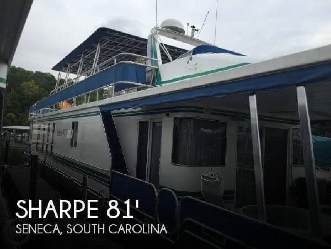 2001 Sharpe Houseboats 16 X 81 Widebody Seneca SC