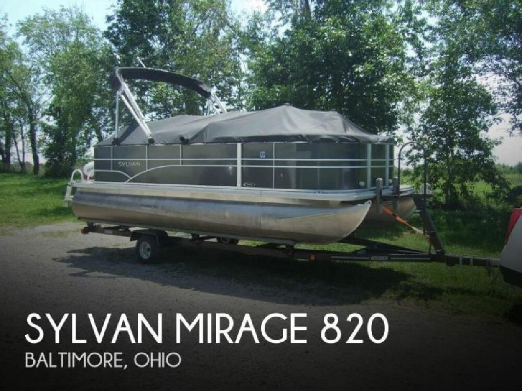 2014 Sylvan Marine Mirage 820 Baltimore OH