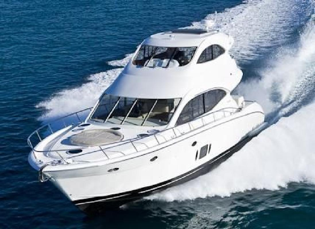 2013 60' Maritimo A60 Aegean Enclosed Bridge