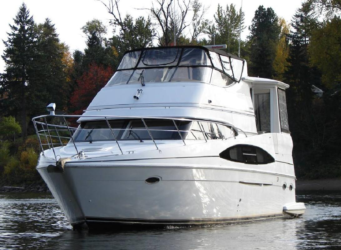 2001 46 39 Carver 466 Aft Cabin Luxury Motor Yacht For Sale