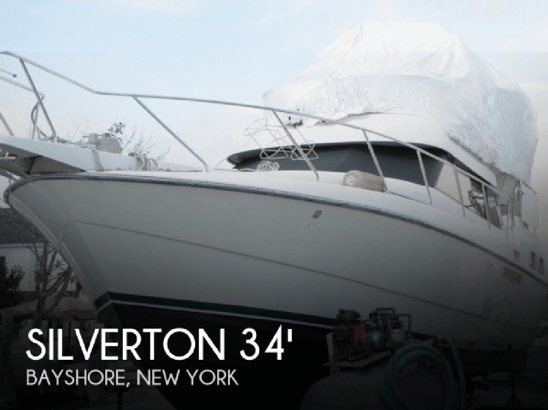 1992 Silverton Marine 34 Aft Cabin Bayshore NY