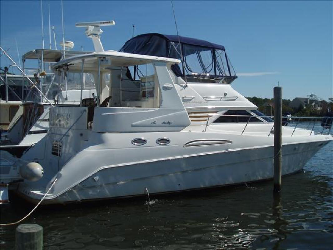 1996 42' Sea Ray 420 Aft Cabin Motor Yacht in Brick, New Jersey