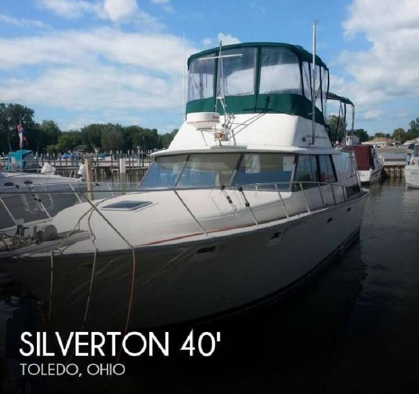 1982 Silverton Marine 40 Aft Cabin Toledo OH