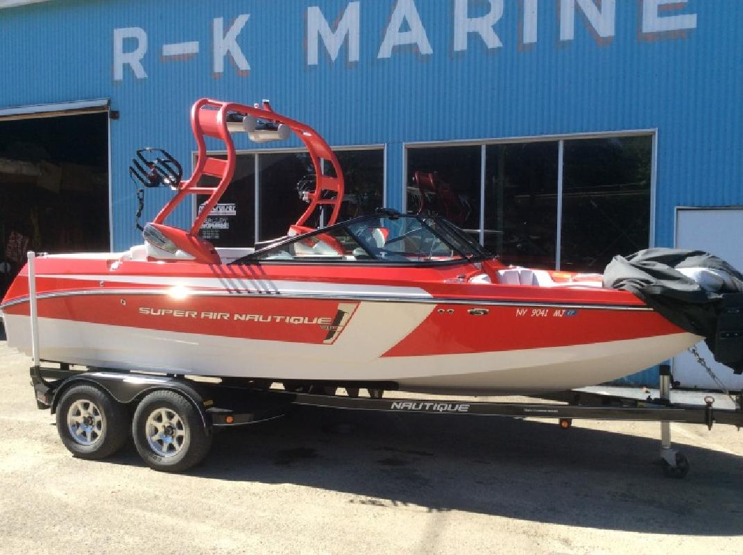 2014 - Nautique Boats - Super Air Nautique 210 in Rushford, NY