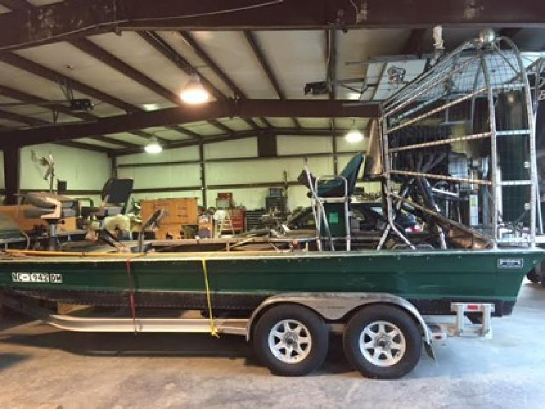 $29,999 2008 Diamondback Airboat