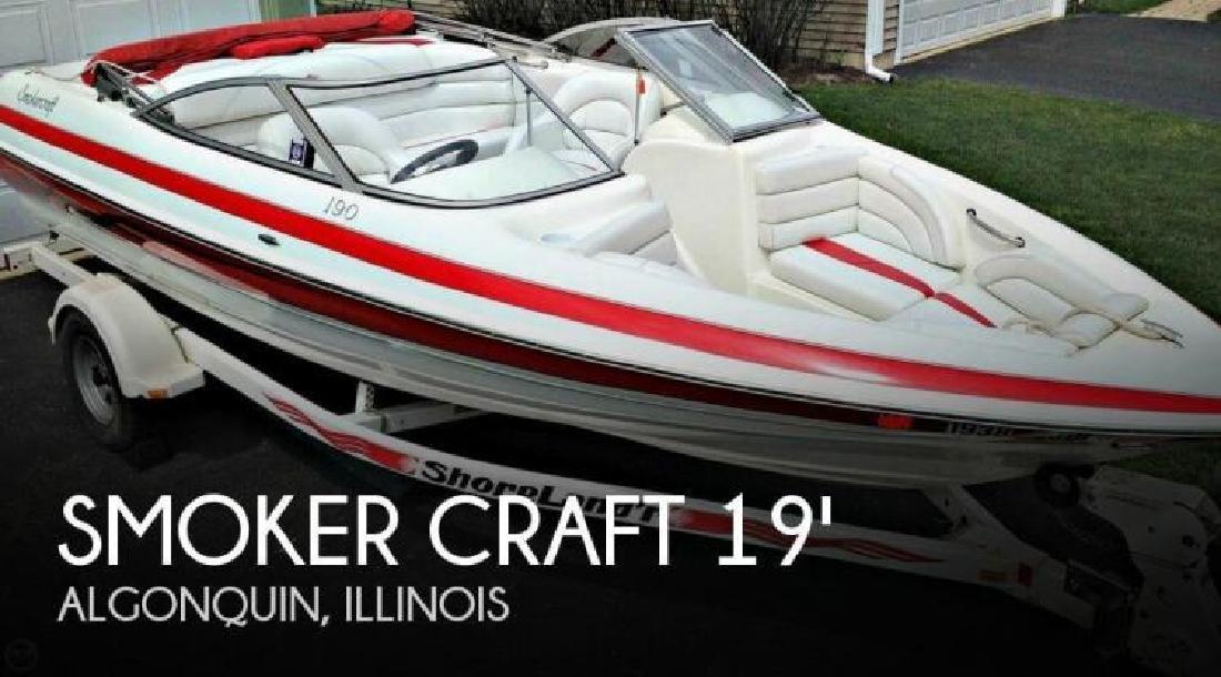 2003 Smoker-Craft Boats 190 Alante Algonquin IL