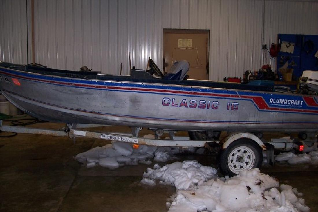 Alumacraft new and used boats for sale in iowa for Used fishing boats for sale in iowa