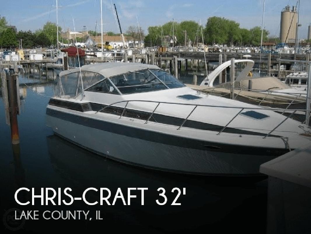 1987 Chris Craft 320 Amerosport Waukegan IL