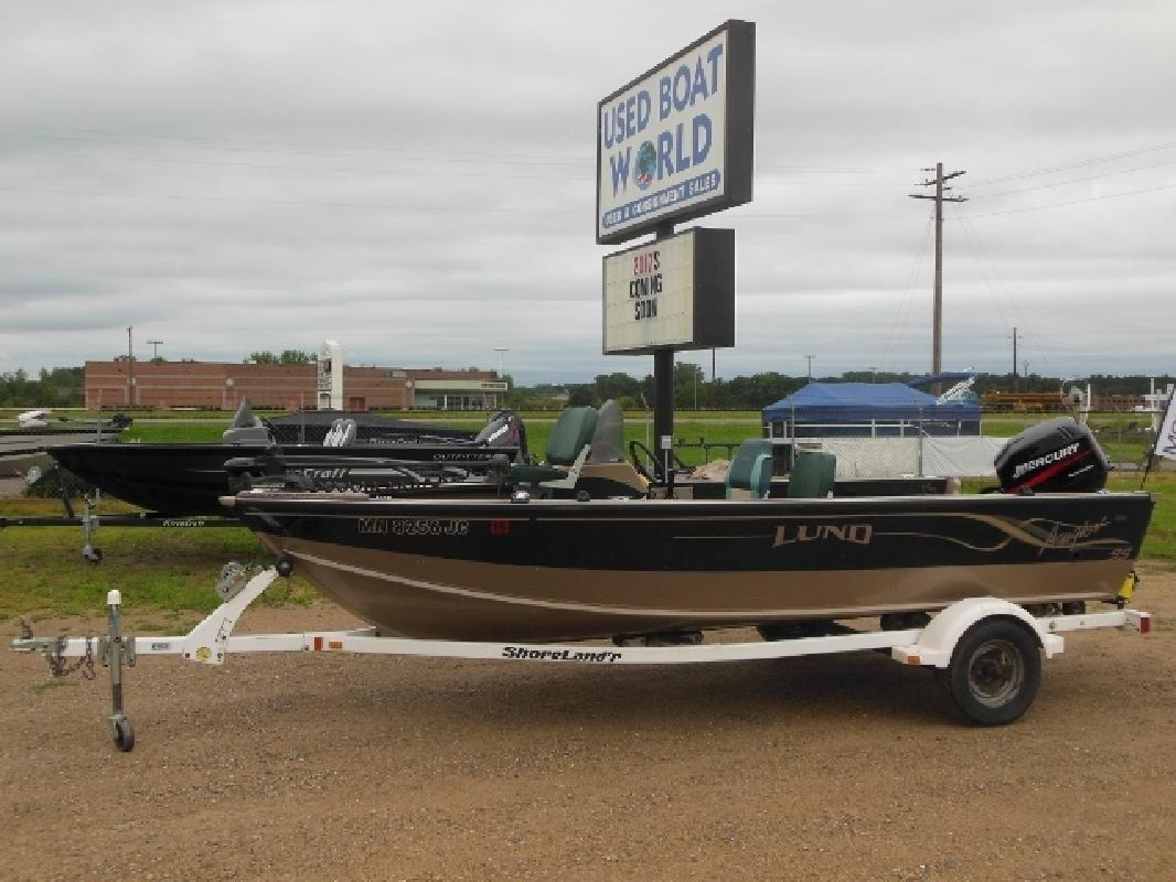 Lund new and used boats for sale in minnesota for Used fishing boats for sale mn