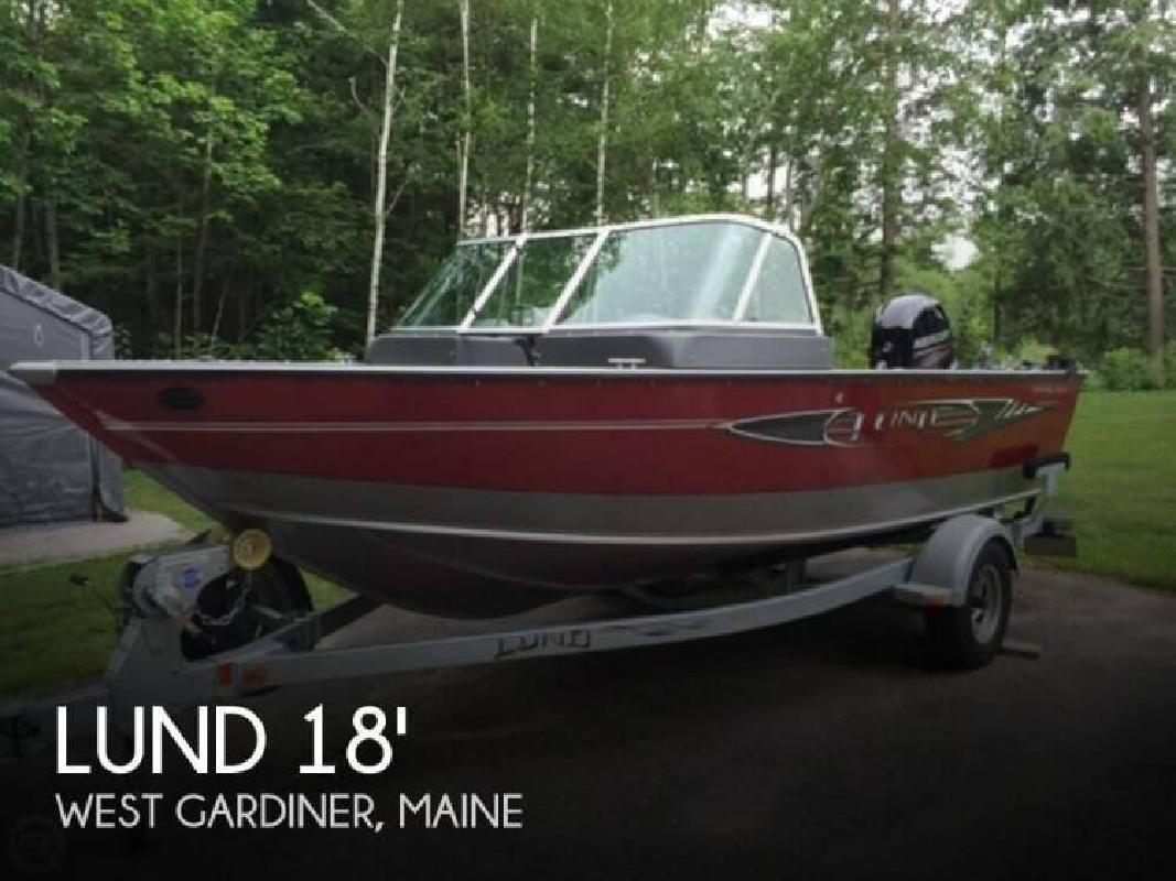 2013 Lund Boats 1800 Sport Angler West Gardiner ME for sale