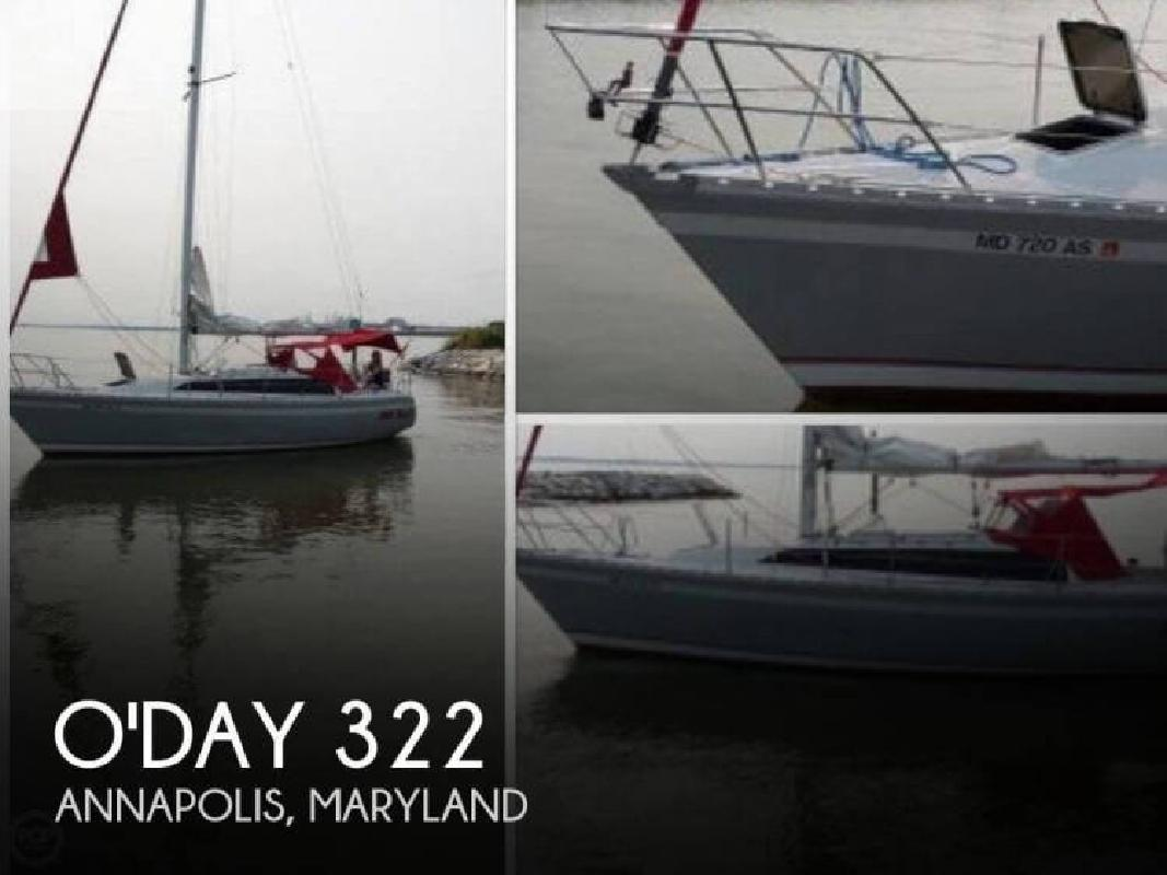 1987 O-Day 322 Annapolis MD