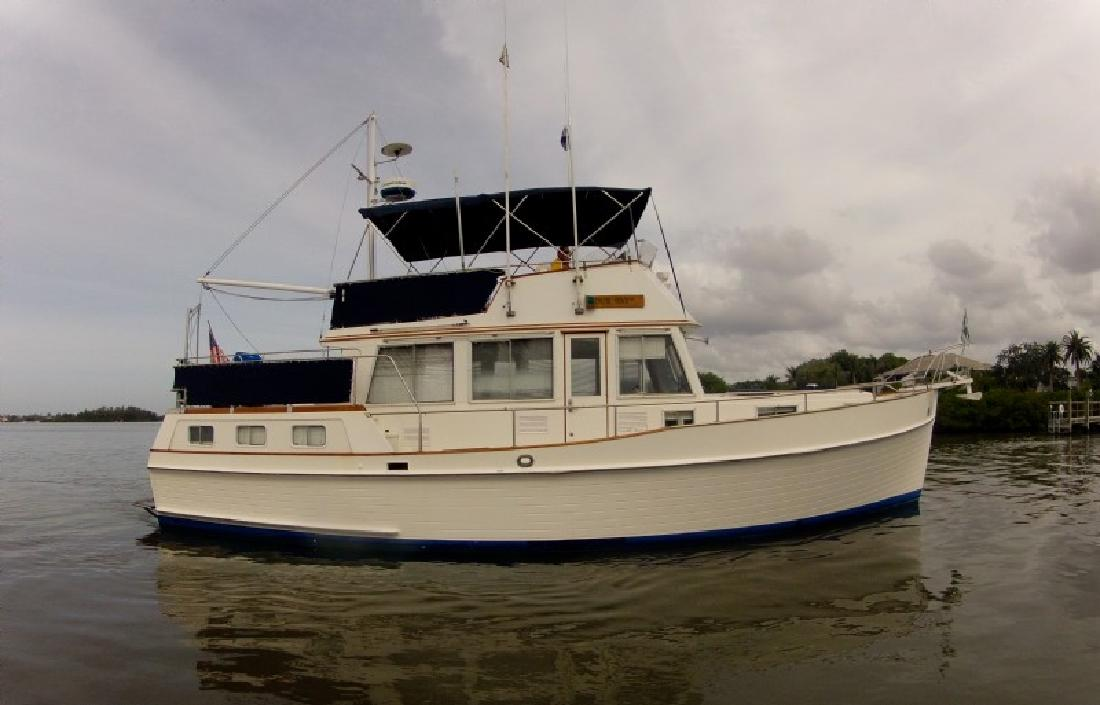 1988 42 39 grand banks motor yacht for sale in sarasota for Grand banks motor yachts for sale