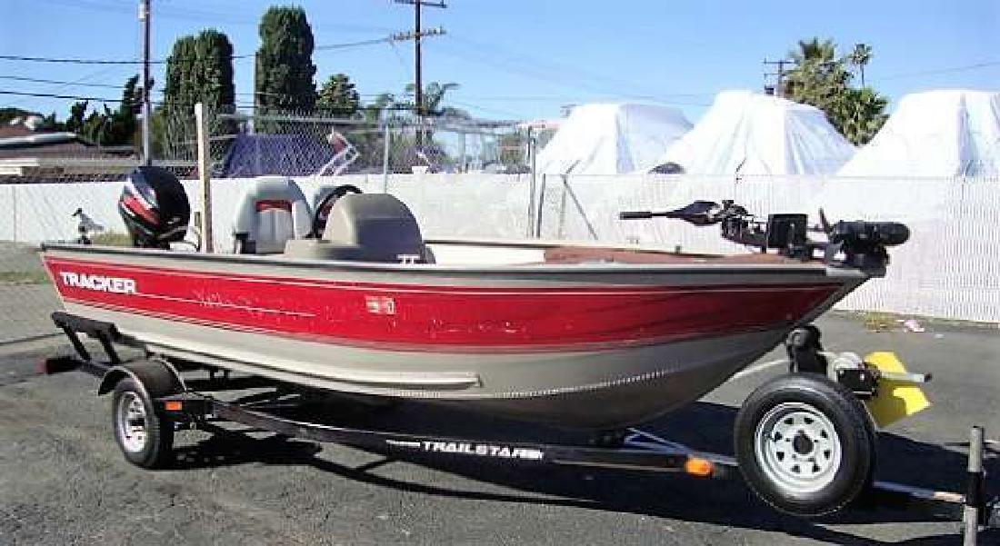 2002 TRACKER GV 16 Bass Anaheim CA