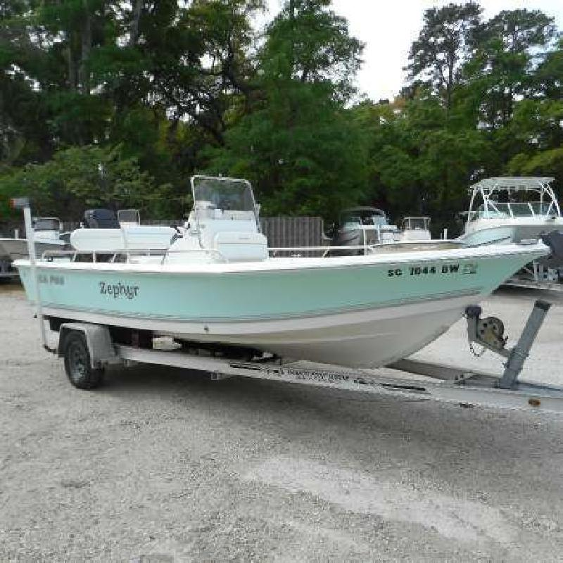 2006 SEA PRO SV1900CC Bay Boat Beaufort SC
