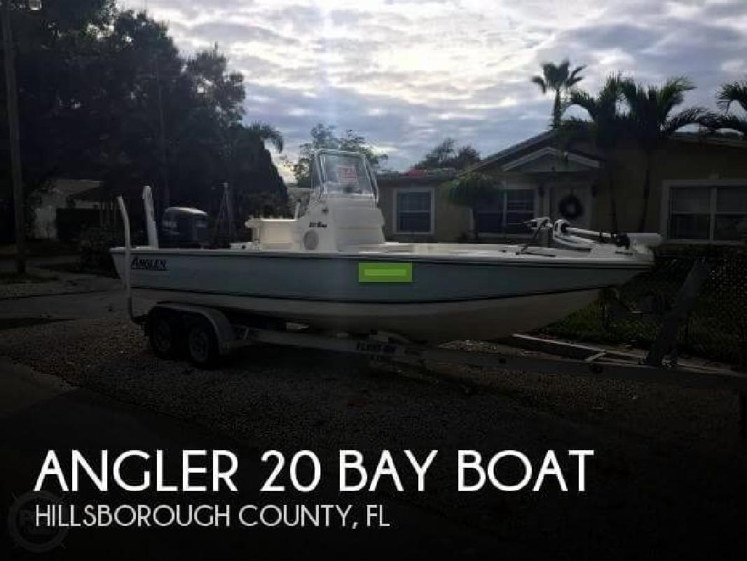 2005 Angler Boats 20 Bay Boat Tampa FL