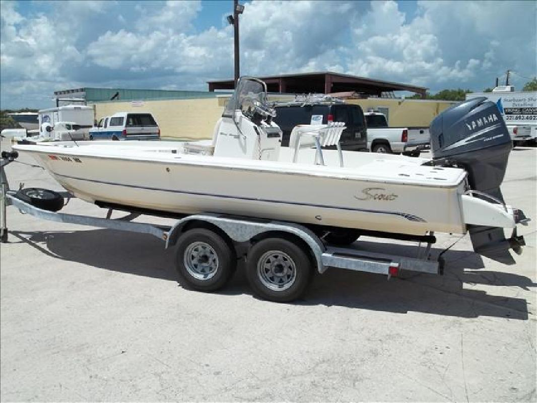 2004 20' Scout Boats Bay Scout 200 in Rockledge, Florida