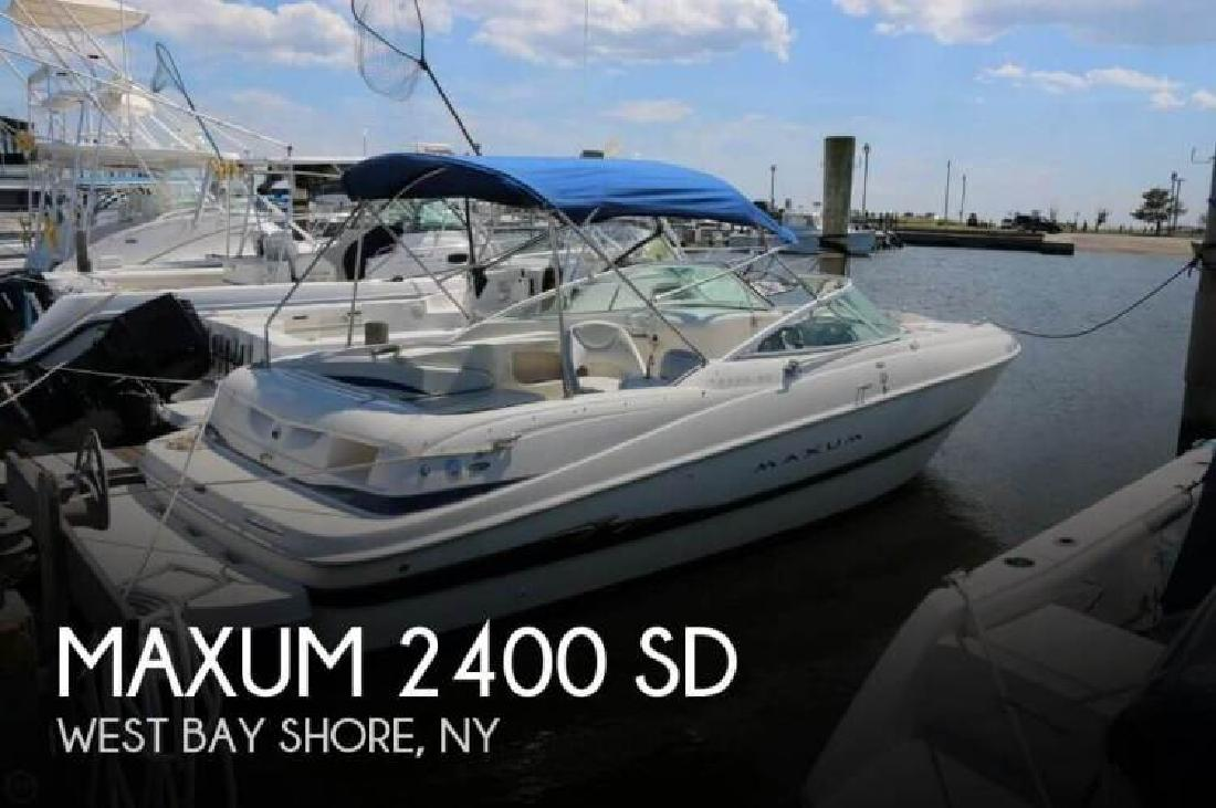 2004 Maxum 2400 SD Bay Shore NY