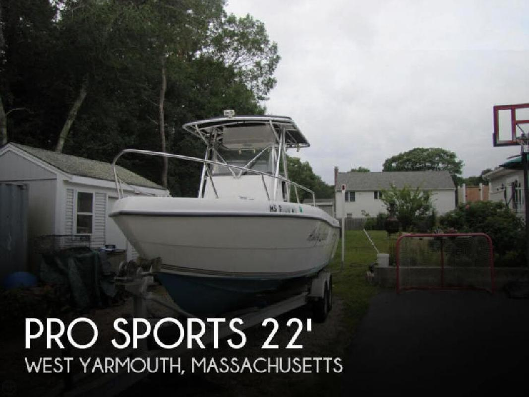 2001 Pro Sport Boats 2200 Bluewater West Yarmouth MA
