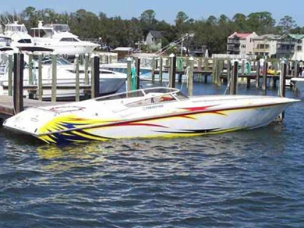 139 000 2005 Fountain Lightning Power Boat 42 Ft For Sale In