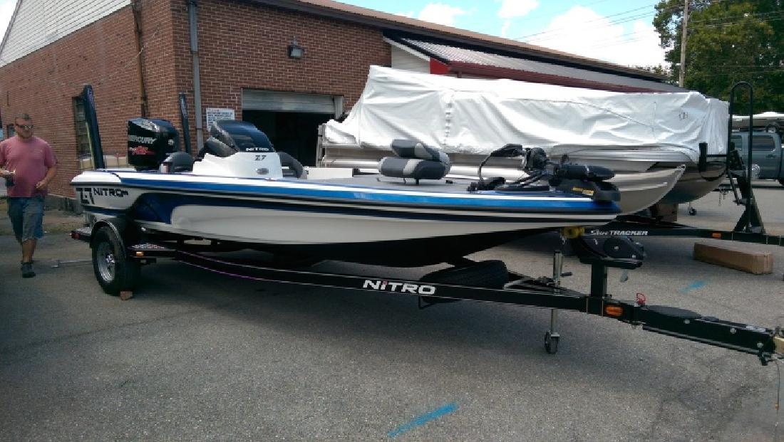 2015 NITRO Z7 BASS BOAT - Belton TX