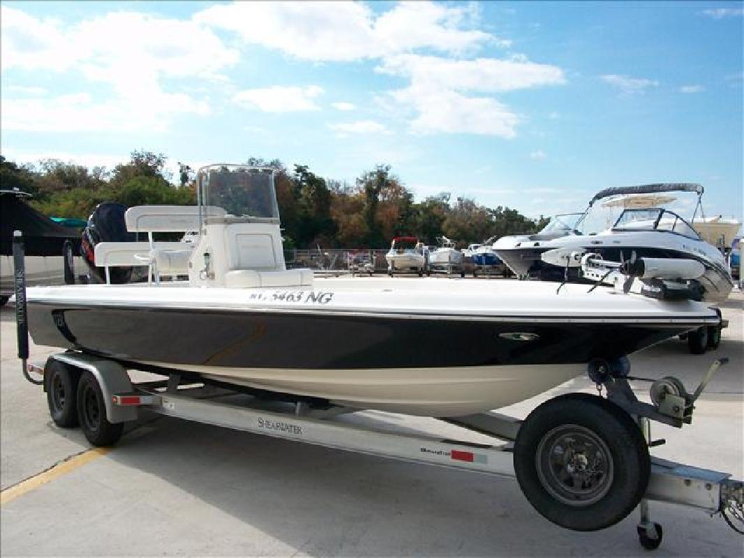 2006 22' Shearwater Fishing Boat 2200 Z