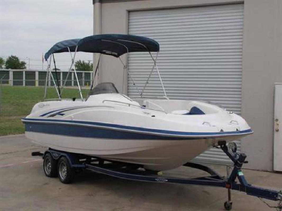 2003 Tahoe 222 Deck Boat 22ft 220hp for sale in Safety