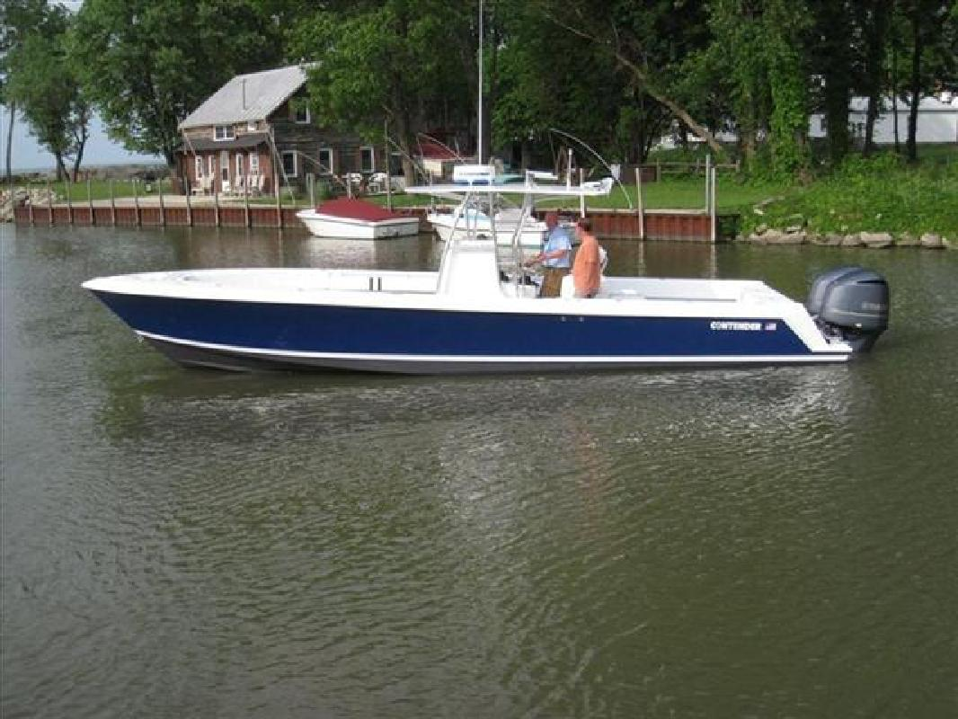 2008 33 39 contender fishing boat 33 tournament for sale in for Fishing boats for sale in ohio