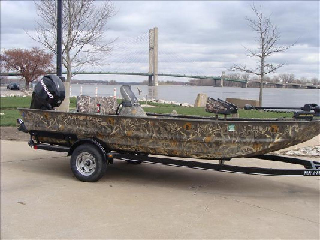 2011 war eagle boats fishing boat 860 ldbr burlington ia for Fishing boats for sale in iowa