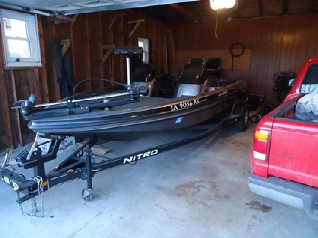 Nitro new and used boats for sale in iowa for Fishing boats for sale in iowa