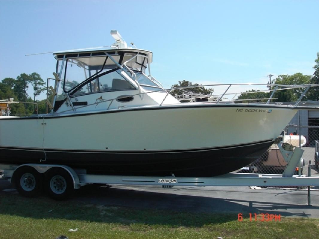 1996 27' Albemarle Boats 27 Sport Fisherman (Boat and Power Restored in 200 ...
