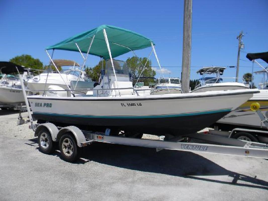 2002 SEA PRO SV1900CC Bay Boat Cape Coral FL