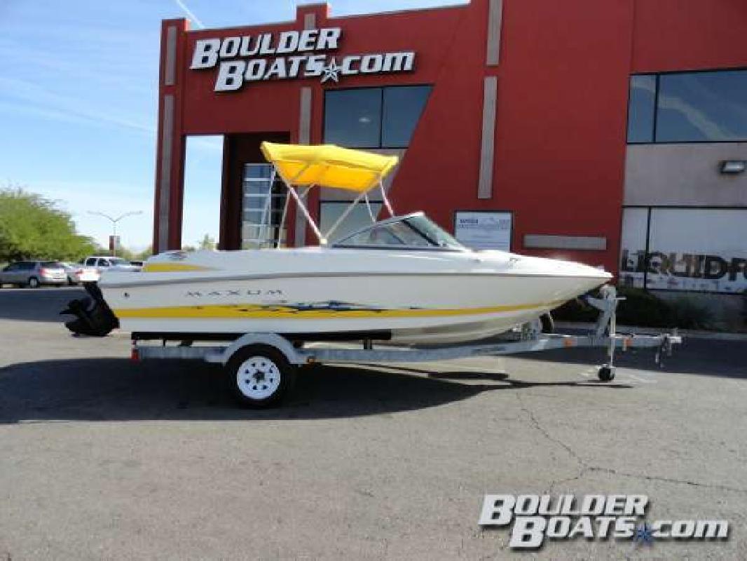 2005 MAXUM 1800MX Sport Boat Henderson NV